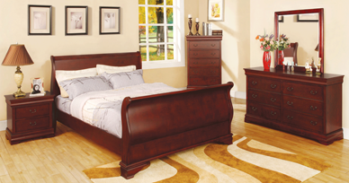 Louis Phillipe In Cherry Finish Hd 815 Factory Furniture Greenville Ms Call 800 569 3904