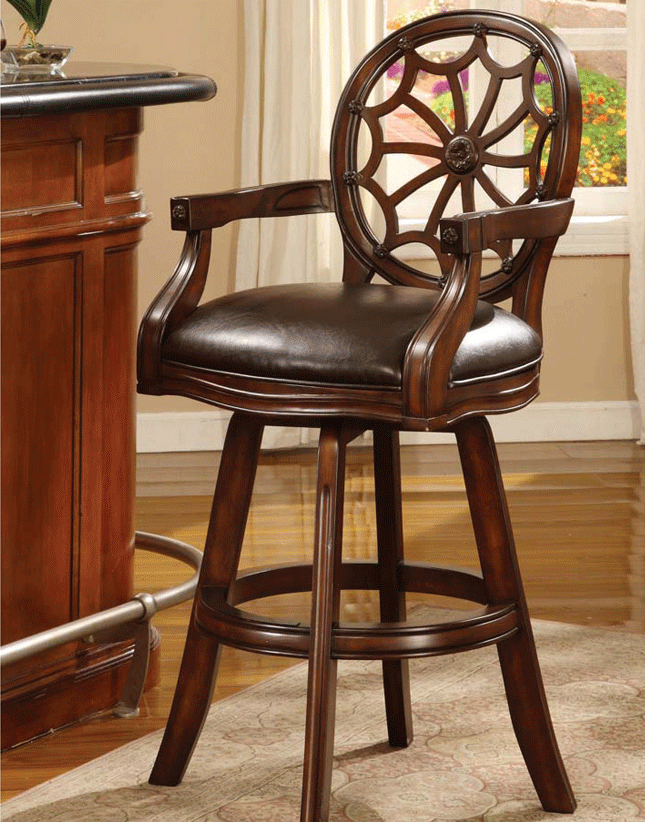 Dark Cherry Barstool Hy K1201 29 Factory Furniture Greenville Ms Call 800 569 3904
