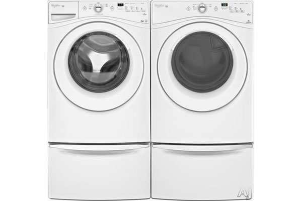 Whirlpool Duet Front Load Washer Wfw70hebw And Dryer Wed70hrbw Factory Furniture